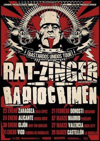 Rat-zinger+Radiocrimen cartel gira conjunta