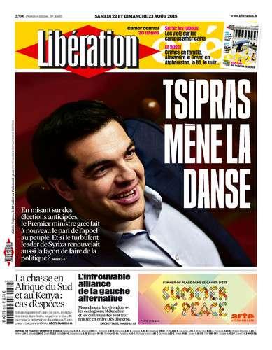 Liberation WEEK-END Du Samedi 22 & Dimanche 23 Août 2015