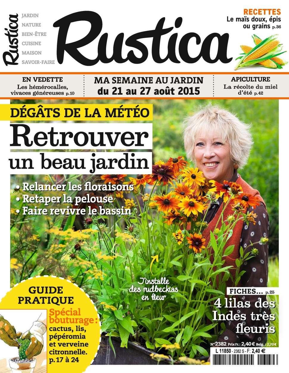 Rustica 2382 - 21 au 28 Août 2015