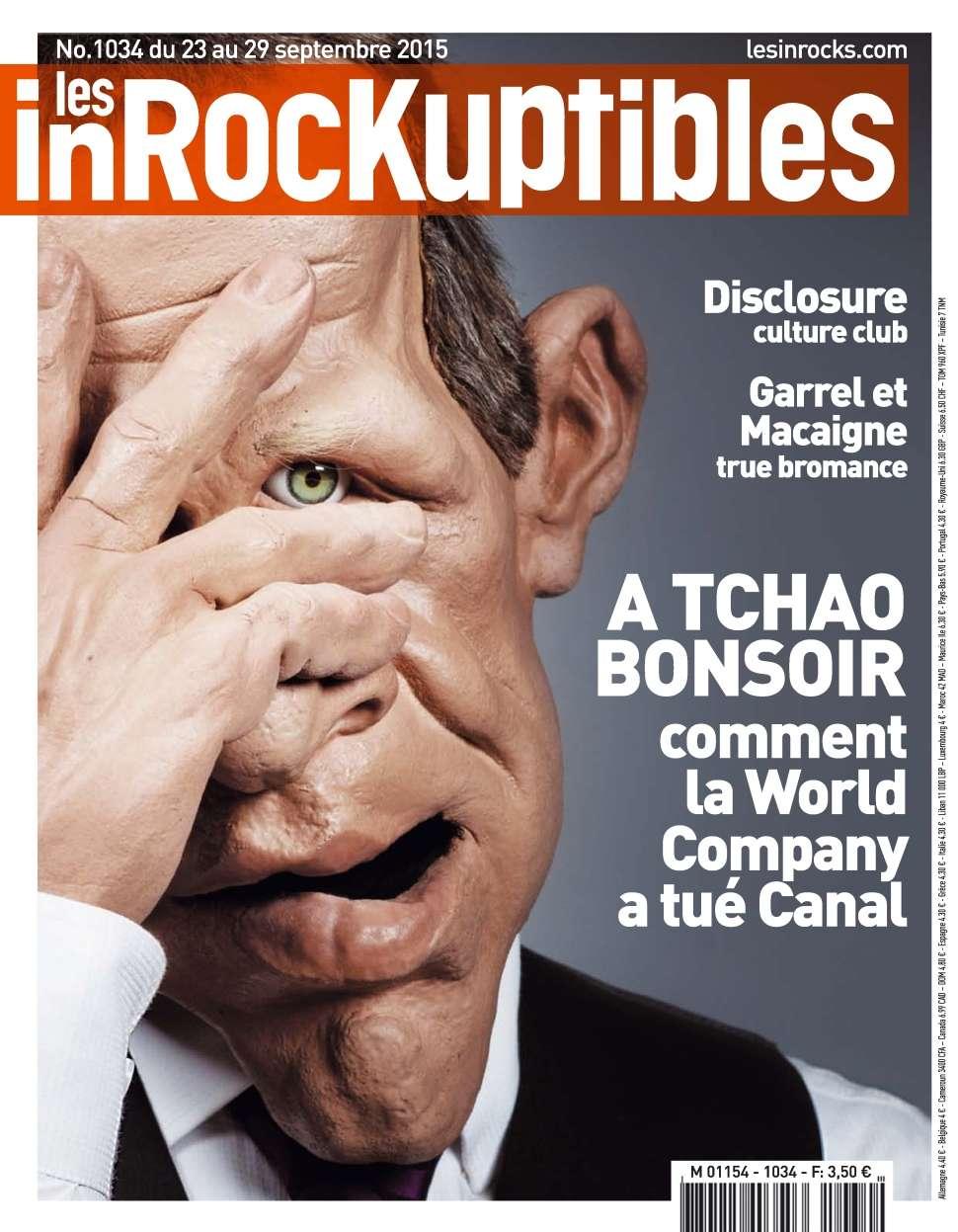 Les Inrockuptibles 1034 - 23 au 29 Septembre 2015