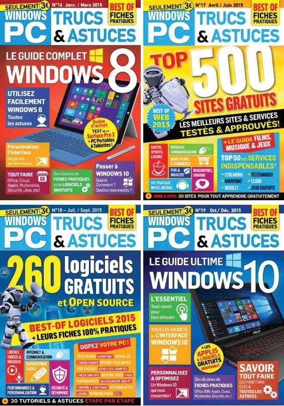 Windows PC Trucs et Astuces - Collection Complète 2015