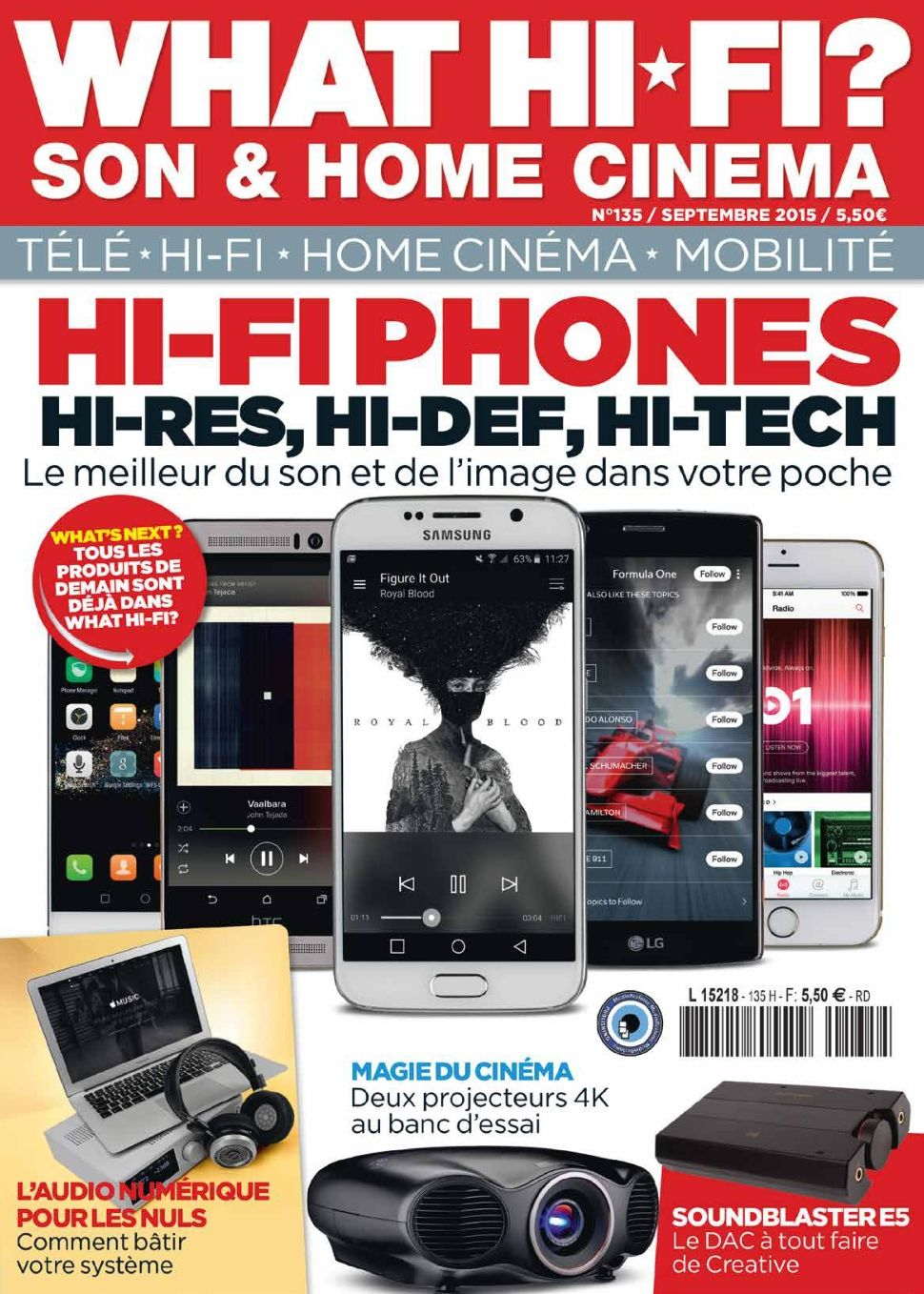 What Hi-Fi ? 135 - Septembre 2015
