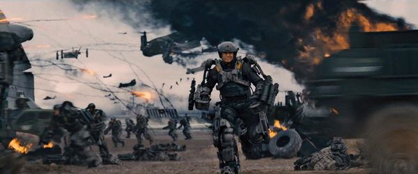 EDGE OF TOMORROW - AL FILO DEL MAÑANA 2014 pelicula