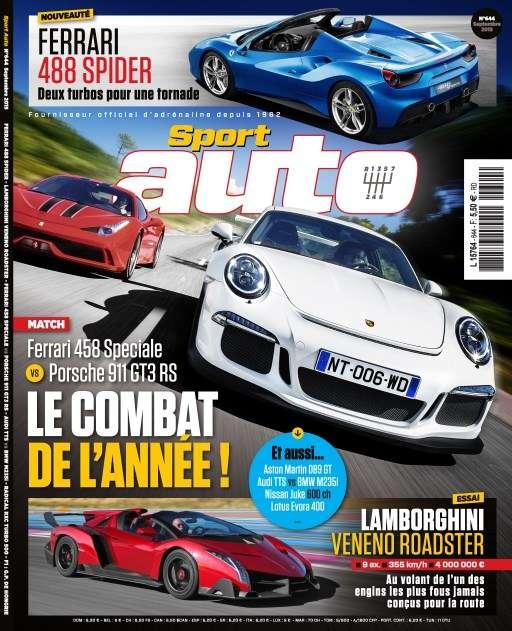 Sport Auto 644 - Septembre 2015