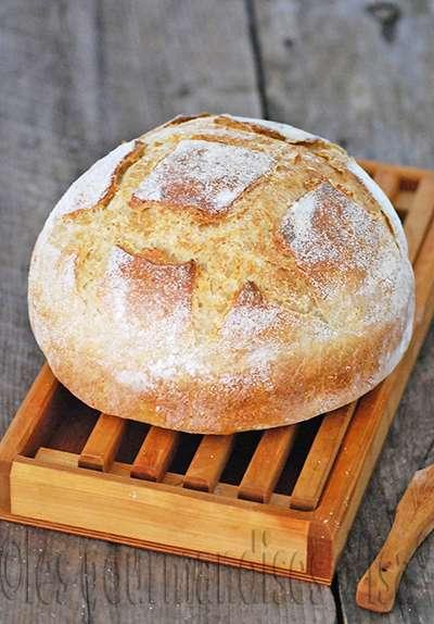 poudding pain levure poire