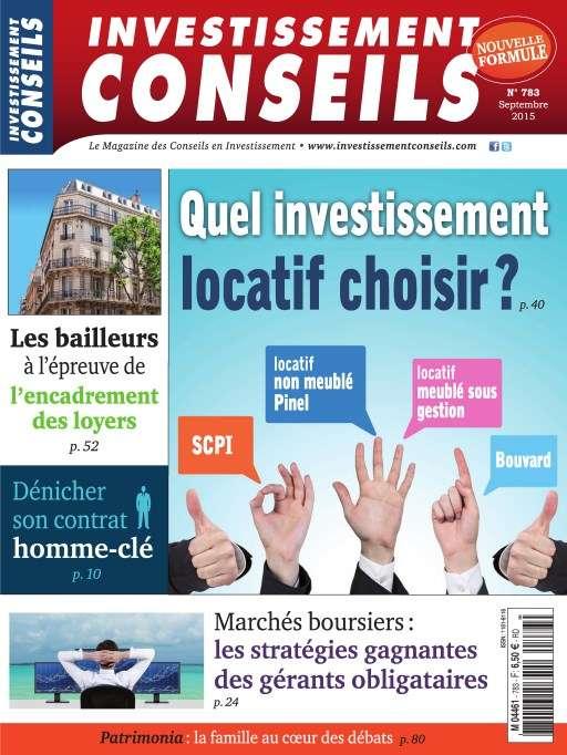Investissement Conseils 783 - Septembre 2015