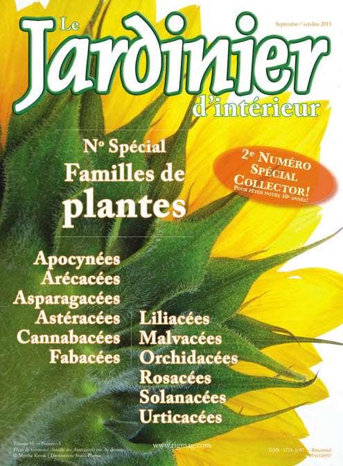 Le Jardinier d'intérieur - September/October 2015