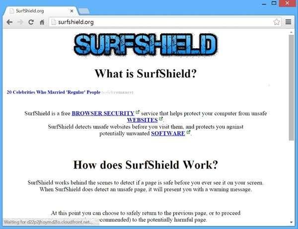 Remove SurfShield