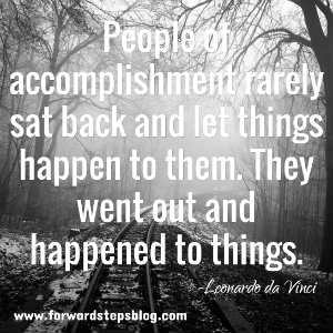 People Happen To Things Quote Image