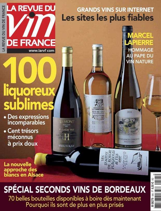 La Revue du Vin de France - Octobre 2015