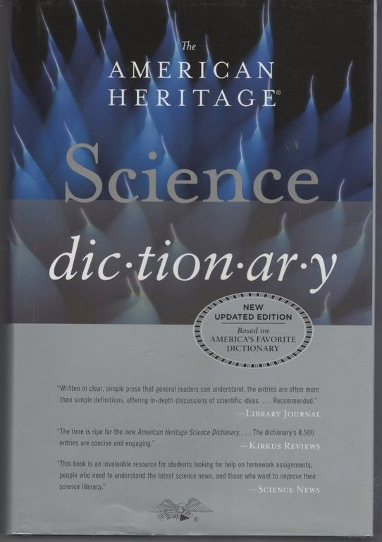 The American Heritage Science Dictionary, American Heritage Dictionaries, Editors of the