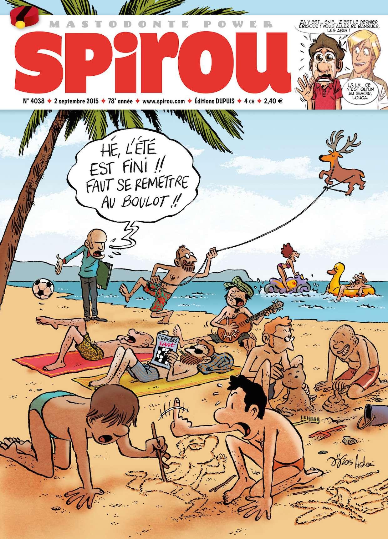 Le Journal de Spirou 4038 - 2 au 8 Septembre 2015