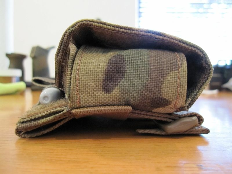 Right side of pouch