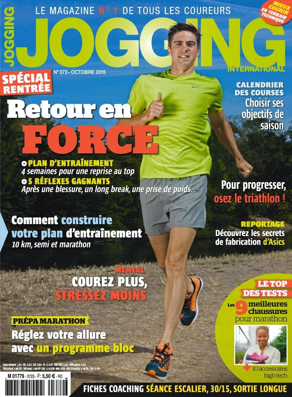 Jogging International 372 - Octobre 2015