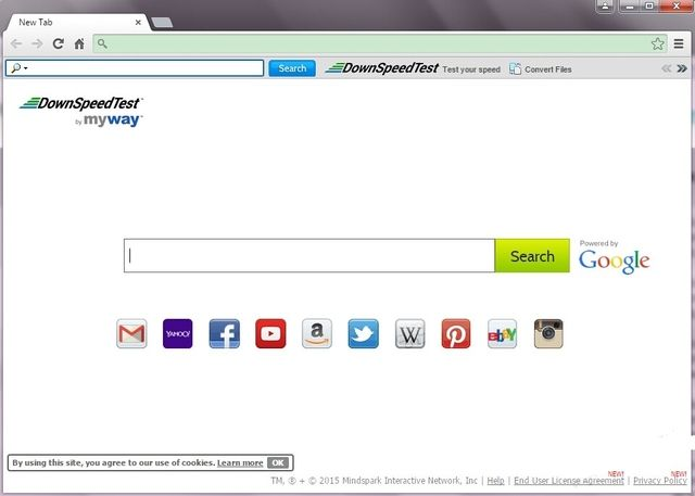 Entfernen DownSpeedTest Toolbar
