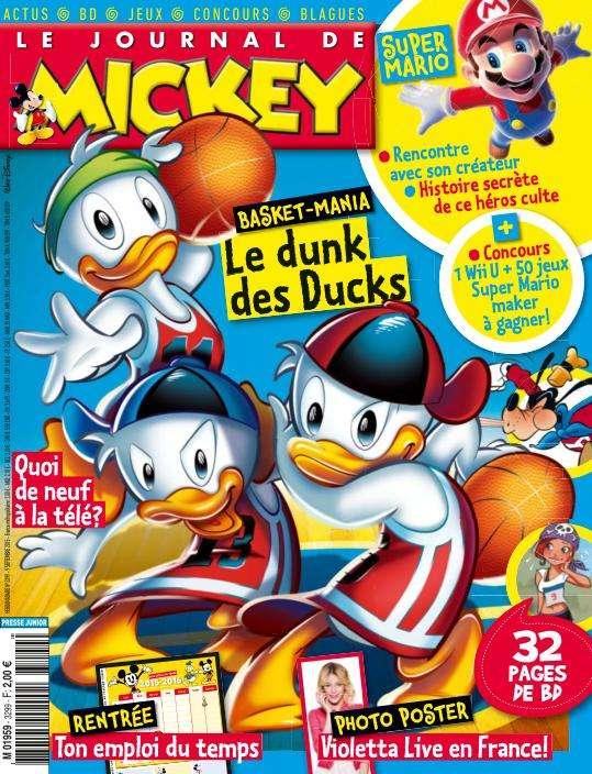 Le Journal de Mickey - 9 au 15 Septembre 2015