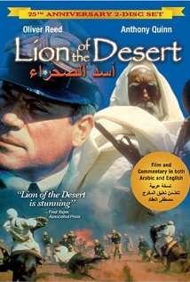 Con sư tử già trên sa mạc
