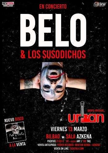 Belo en Bilbao cartel