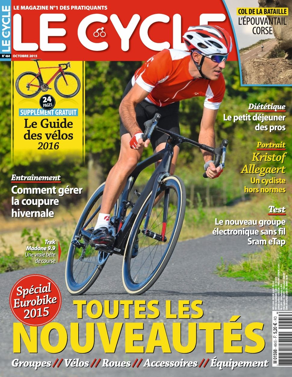 Le Cycle 464 - Octobre 2015