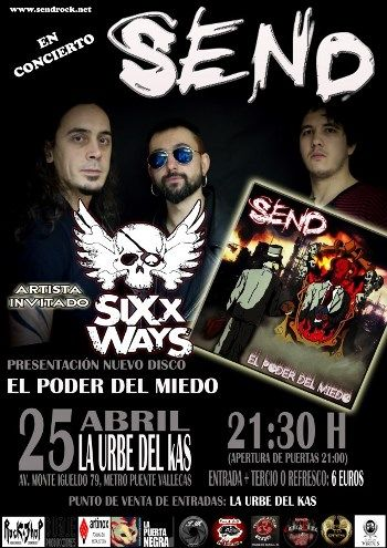 Send en Madrid - cartel