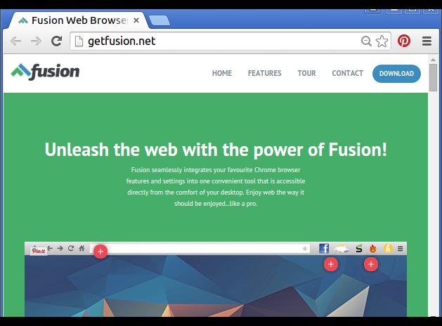 Remove Fusion Browser