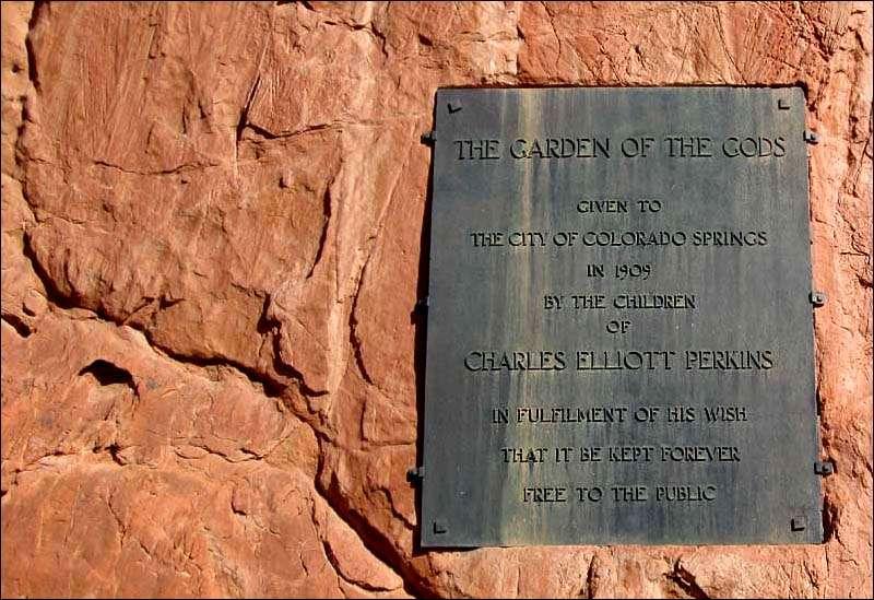 США, Колорадо, Сад Богов. -
