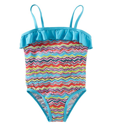 Rainbow Waves girls' bathing suit | Tea Collection