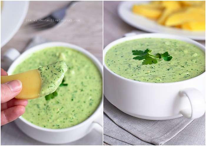 Рецепт: Франкфуртский зеленый соус