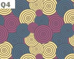Swirling Circles pattern