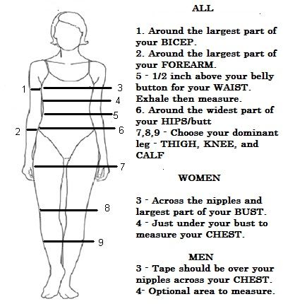 measurements weight loss