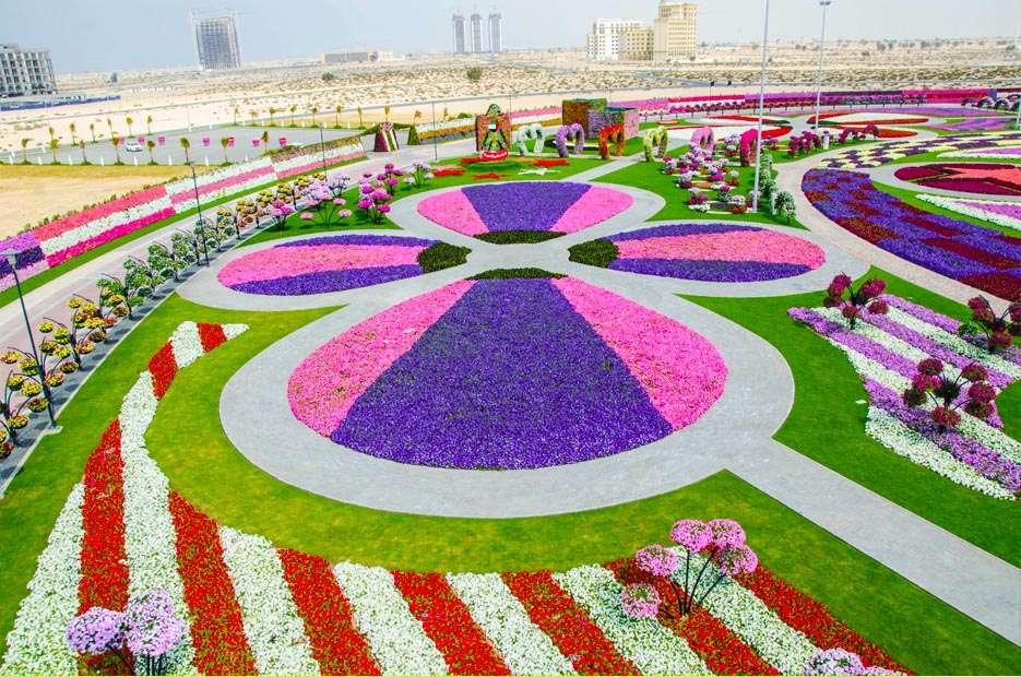 32021376 O maior jardim do Mundo   o jardim de milagre de Dubai