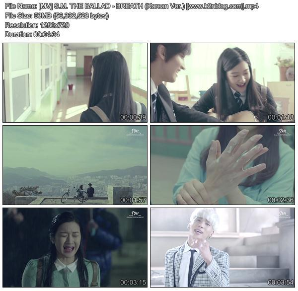 [MV] S.M.THE BALLAD (Jonghyun & Taeyeon) - Breath (Korean Version) [HD 720p Youtube]