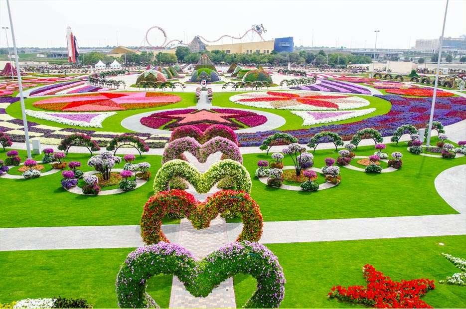 83057575 O maior jardim do Mundo   o jardim de milagre de Dubai