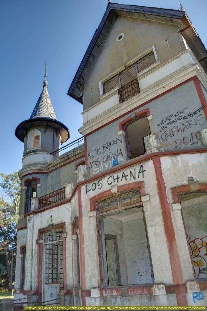 el castillo san francisco, castillo de ega�a