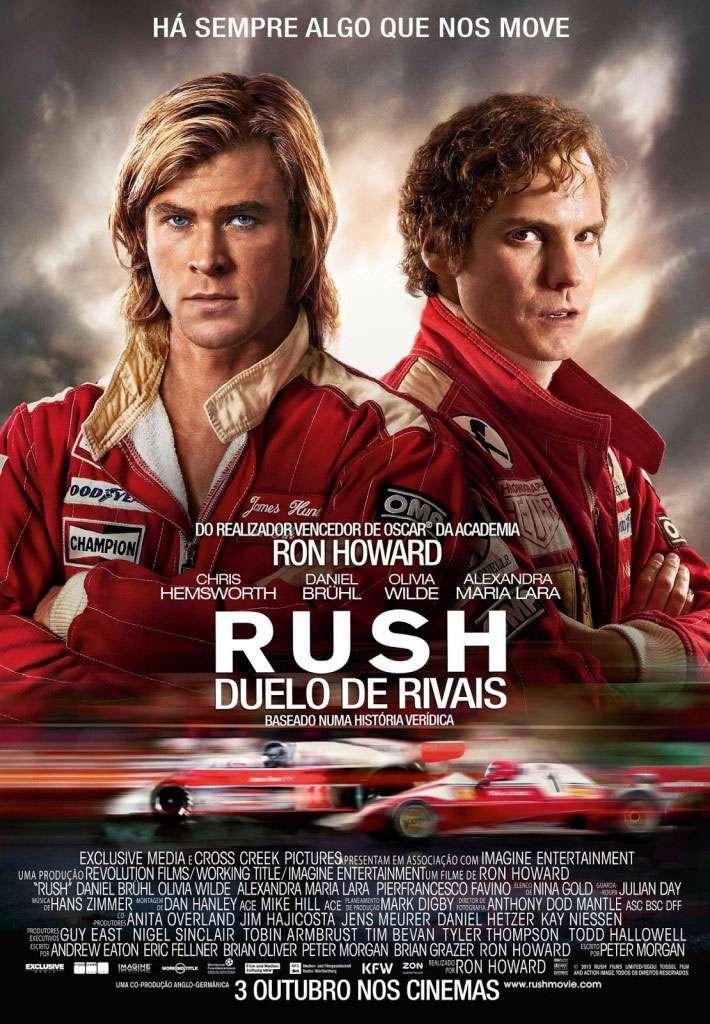 """""""Rush: Duelo de Rivais"""" Pôster"""