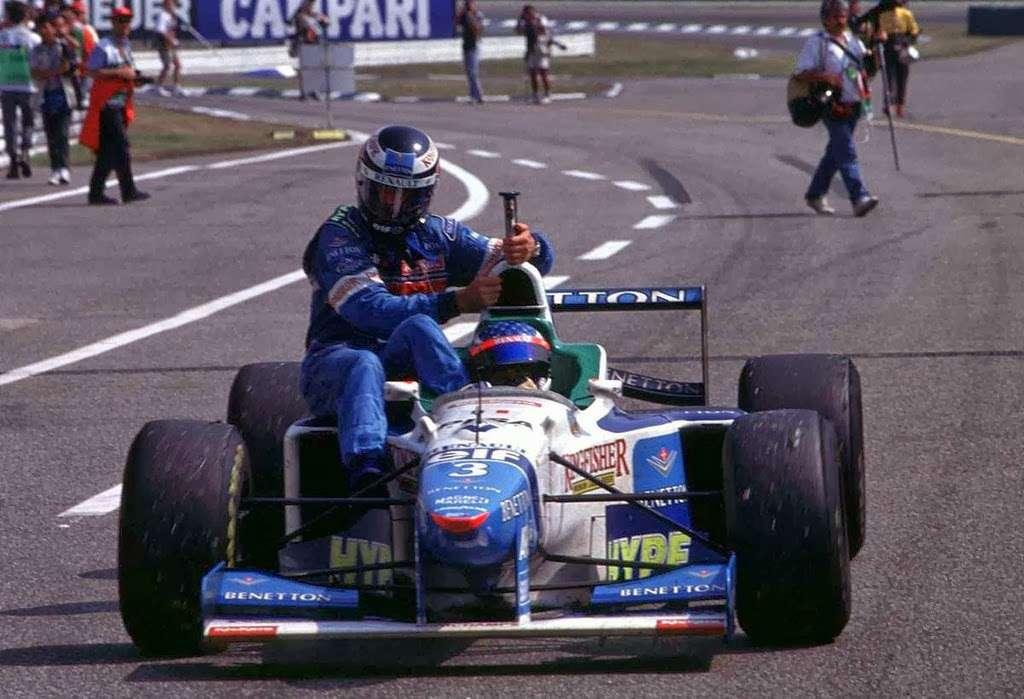 GP da Alemanha de 1996: o francês Jean Alesi e o austríaco Gerhard Berger