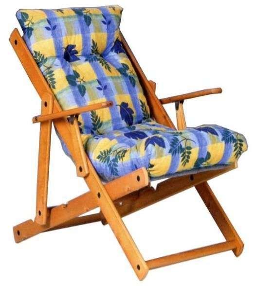 Poltrona poltrone sdraio relax sedie giardino esterno for Sedia sdraio imbottita ikea