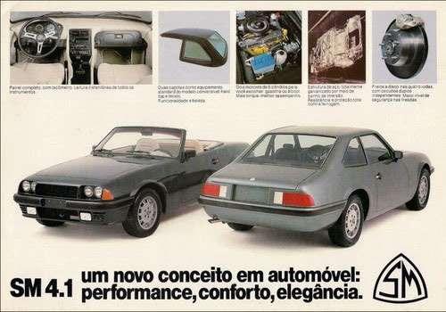 Santa Matilde SM 4.1. Um novo conceito em automóvel: performance, conforto, elegância.