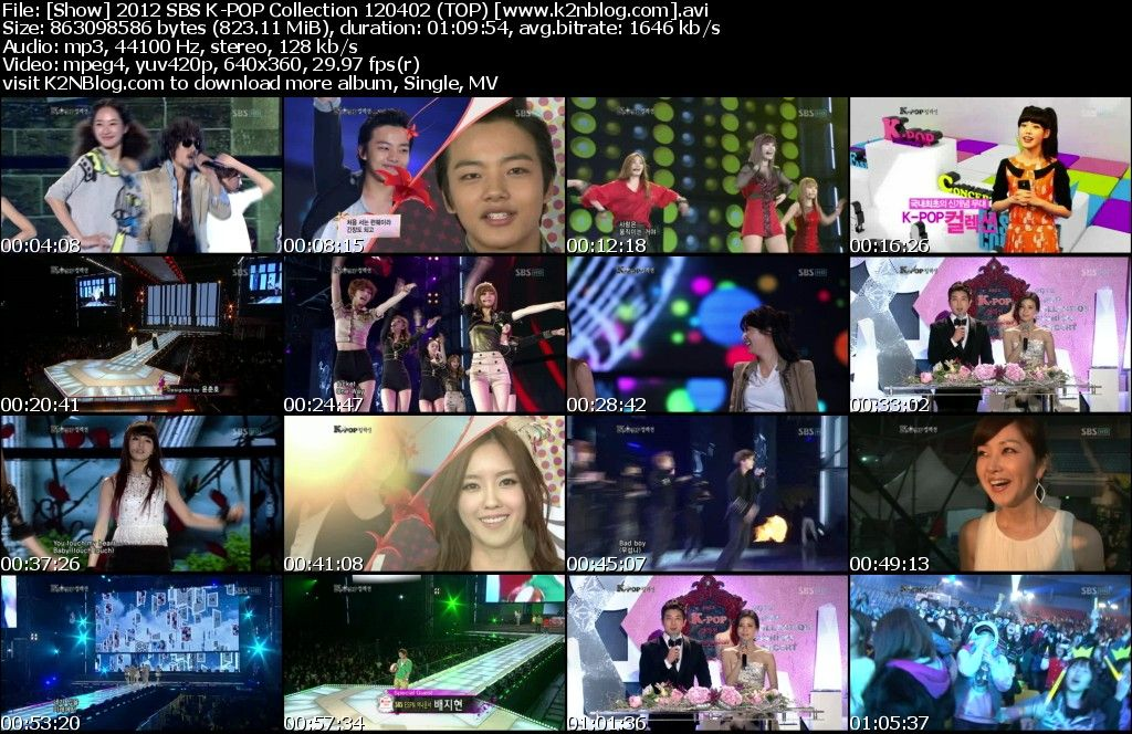 [Show] 2012 SBS K-POP Collection 120402
