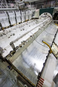 Image above: Space shuttle Atlantis&#39;<br /> payload bay doors are shown before<br /> being closed for the final time on<br /> Sept 20.<br /> Photo credit: NASA/Jim Grossmann&nbsp;&nbsp; <br /> <a href='http://www.nasa.gov/images/content/693197main_Atlantis1-5547.jpg' class='bbc_url' title='External link' rel='nofollow external'>� View larger image</a>