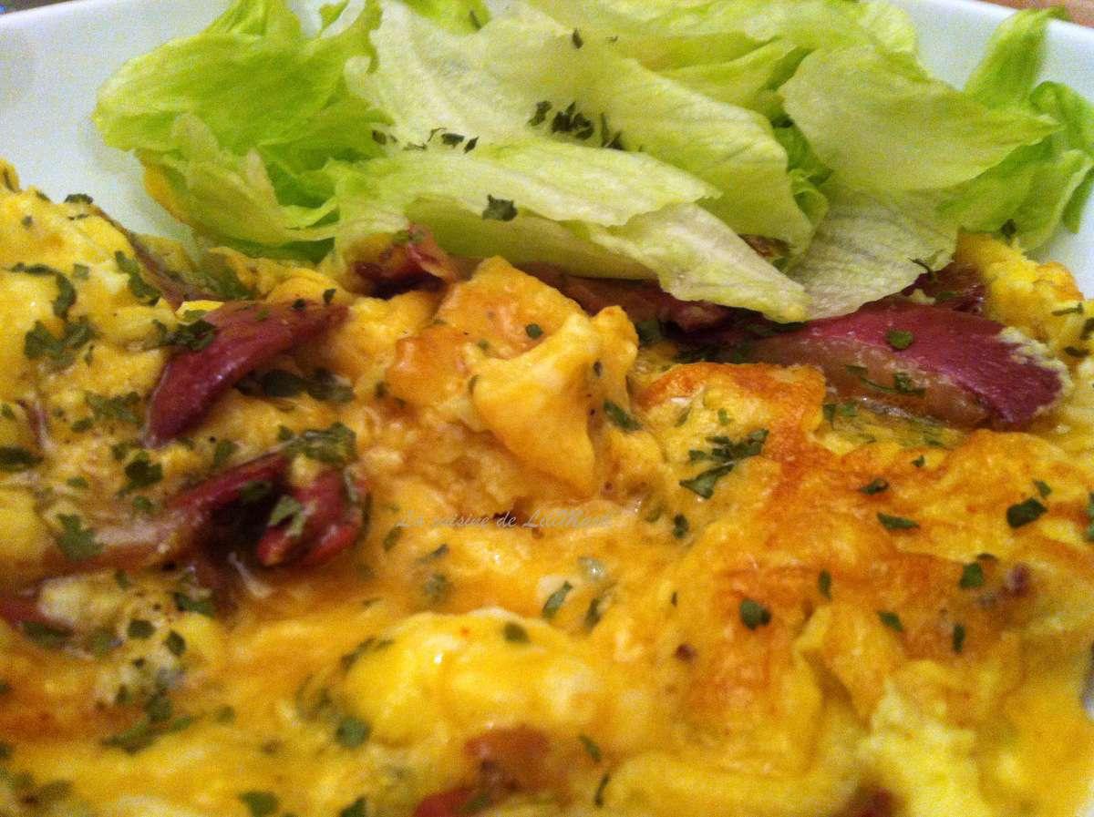 Et si l 39 omelette de la m re poulard tait simple la - Recette omelette mere poulard ...