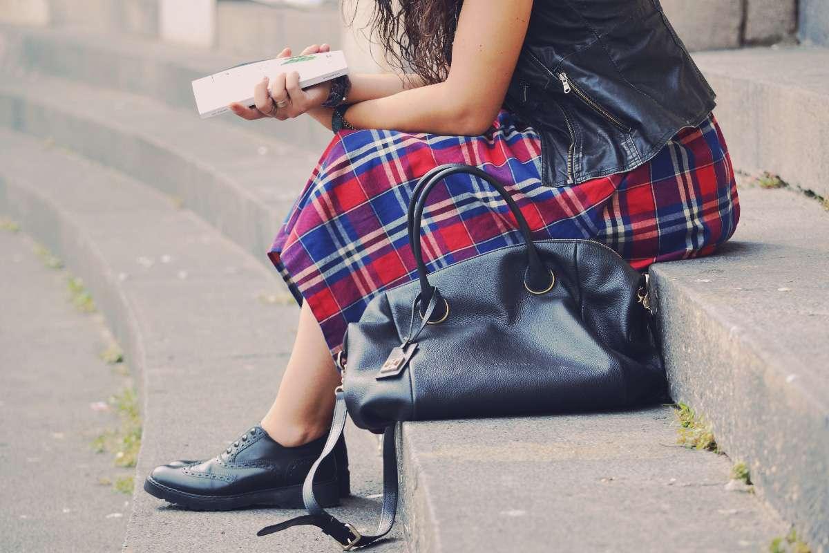 alice's pig tartan skirt