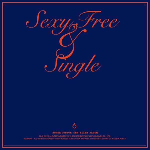 [Album] Super Junior   Sexy, Free & Single