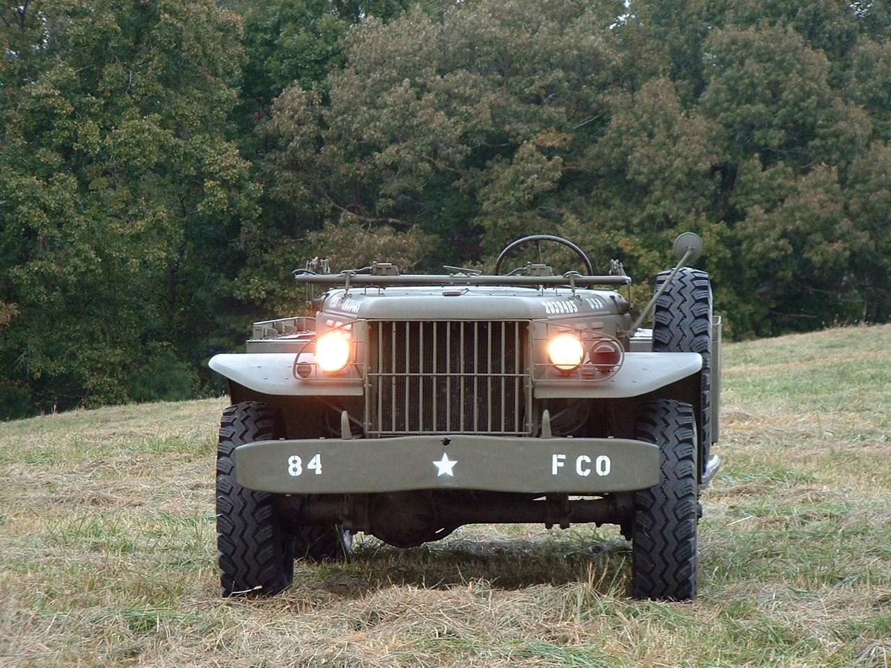buy new 1945 dodge wc51 weapons carrier ww2 beautiful