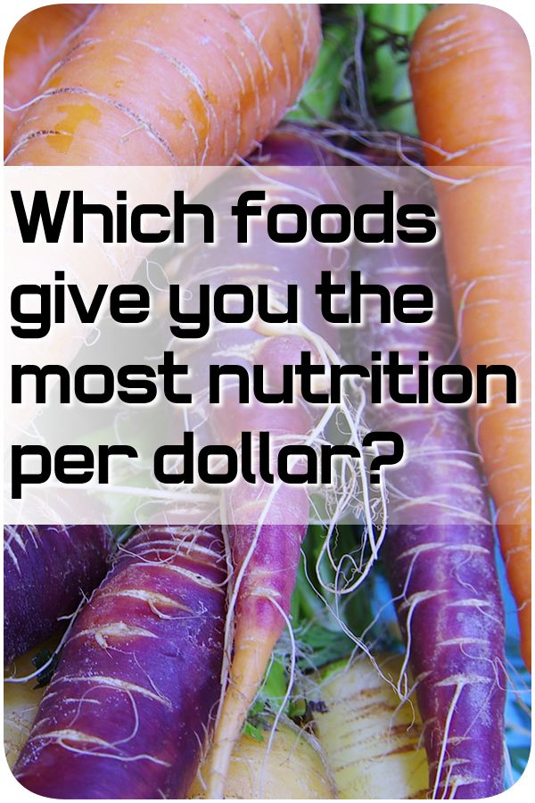 Maximize nutrition per dollar and eat cheap and organic at the same time by Raederle Phoenix