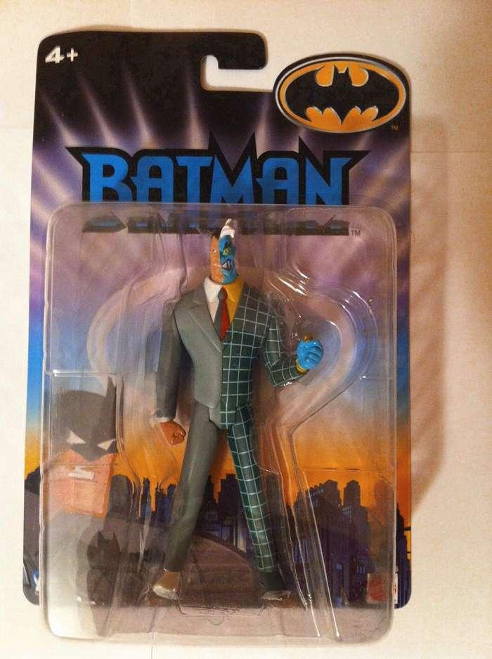 Batman joker due facce action figure cm cartone animato