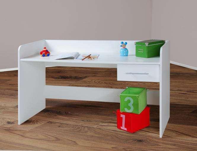 schreibtisch wei h henverstellbar b rotisch sch lertisch kinderschreibtisch neu ebay. Black Bedroom Furniture Sets. Home Design Ideas