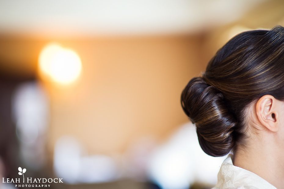 Wedding Updo Taj Boston Bridal Suite