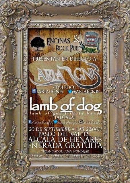 Aria Ignis y Lamb of Dog cartel