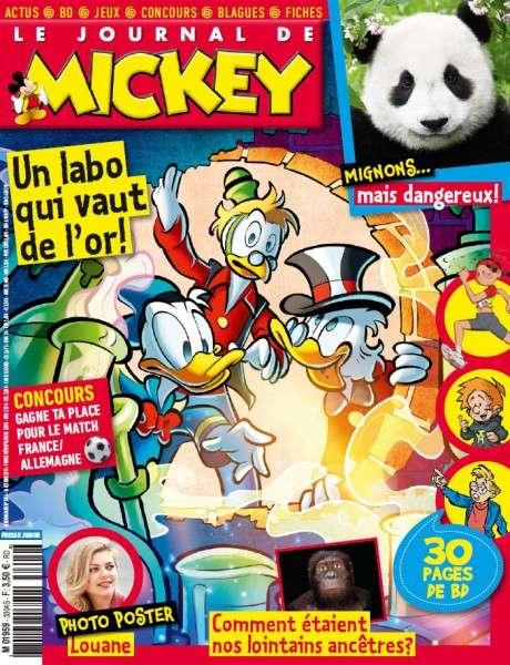 Le Journal de Mickey – 14 Octobre 2015